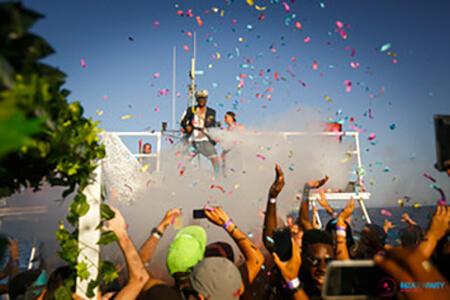 Partyboot Open Bar für meinen JGA in Ibiza | Junggesellenabschied