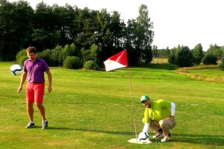 Footgolf for my Benidorm Stag Do