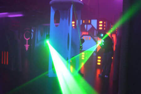Laser Tag Newcastle for your hen weekend with hen Maximise