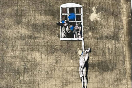 Banksy Walking Tour Bristol for your maximise stag party