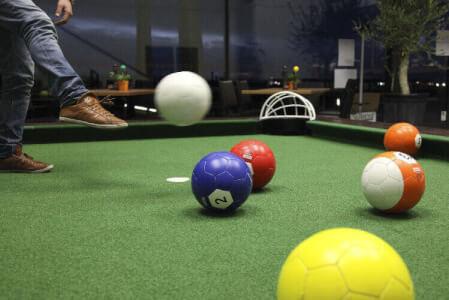 FootPool für meinen JGA in Düsseldorf | Junggesellenabschied