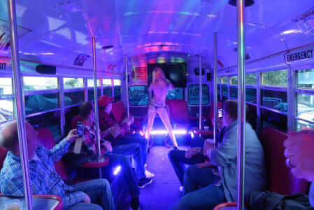 Party Bus & Strip for my Gdansk Stag Do | Maximise Stag Weekends