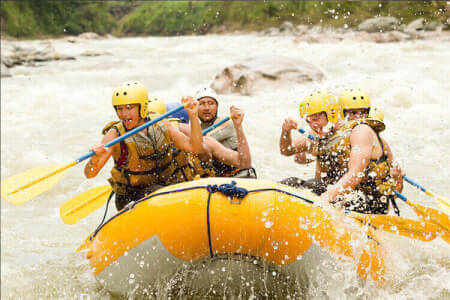 White Water Rafting Newcastle for your stag weekend with stag Maximise
