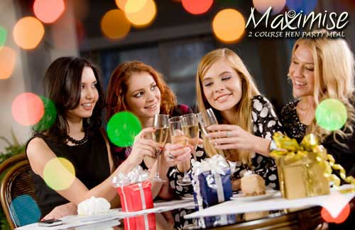 2 Course Hen Party Meal York