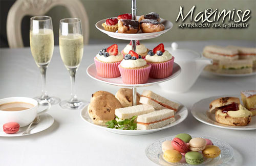 Afternoon Tea with Champagne Newcastle for my hen weekend with hen maximise