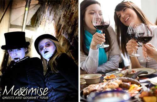 Ghosts and Gourmet Tour Liverpool for my Liverpool Hen Party | Maximise Hen Weekends