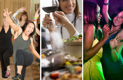 Hen Dance Class, Dinner and Club Entry