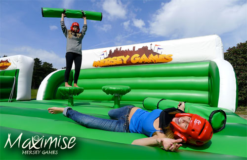 Mersey Games for my Liverpool Hen Party | Maximise Hen Weekends
