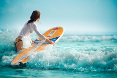 Surf + One way boat transfer for my Lisbonne Hen Party | Maximise Hen Weekends