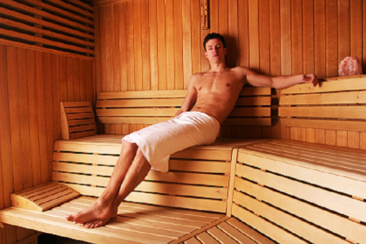 'Steamy' Sauna party  for my Tallinn Stag Do | Maximise Stag Weekends