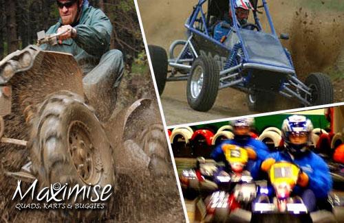 Quads, Mud Buggies & Indoor Karting Nottingham