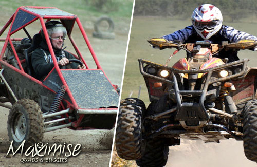 Quads and Off Road Buggies Newcastle for your stag weekend with stag Maximise