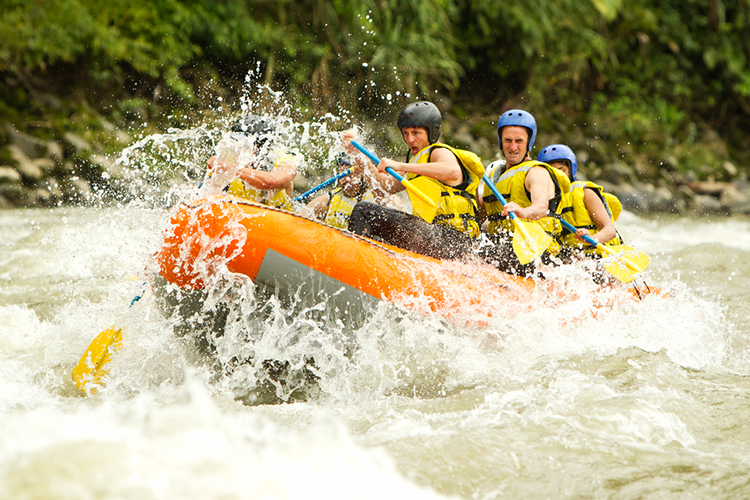 River Rafting for my Split Stag Do | Maximise Stag Weekends