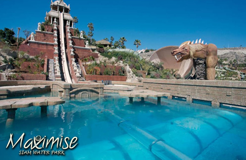 Siam Water Park Entry