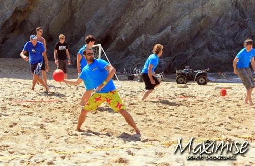 Beach Dodgeball Stag Newquay