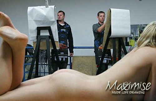 Stag Nude Life Drawing Leeds for my Leeds(Maximise) Stag Do | Maximise Stag Weekends