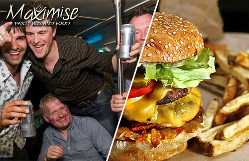 Stag Party on a Bus with Food Edinburgh for my Edinburgh(Maximise) Stag Do | Maximise Stag Weekends