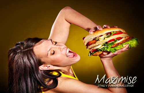 Stag VS Food Challenge Newcastle for your stag weekend with stag Maximise