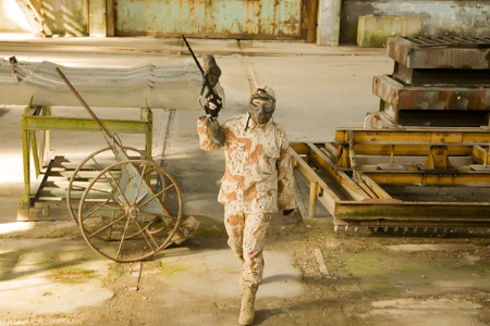 Indoor Paintball London for your stag weekend with stag Maximise