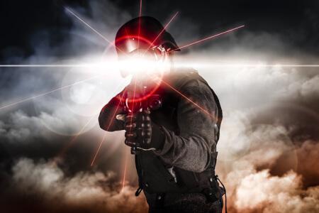 Laser tag à Bruxelles enterrement de vie de garçon avec Crazy EVG
