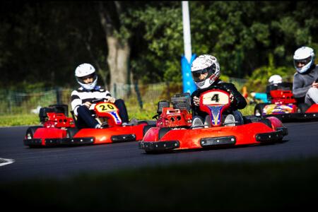 Outdoor Karting für meinen JGA in Madrid | Junggesellenabschied
