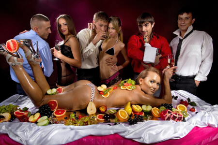 Dinner & striptease stag do in Riga with Maximise