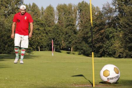 Fußball Golf für meinen JGA in Düsseldorf | Junggesellenabschied