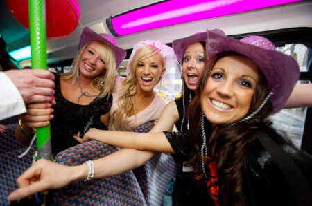 Party Bus for my Bournemouth Hen Weekend
