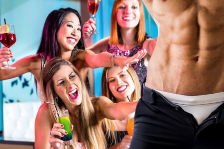 Pleasure Ladies Night for my Dublin Hen Party | Maximise Hen Weekends