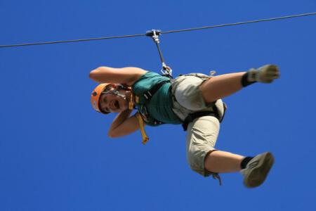 Flying Fox pour mon EVG à Vienne | Enterrement de vie de garçon | idée enterrement de vie de garçon | activité enterrement de vie de garçon | idée evg | activité evg