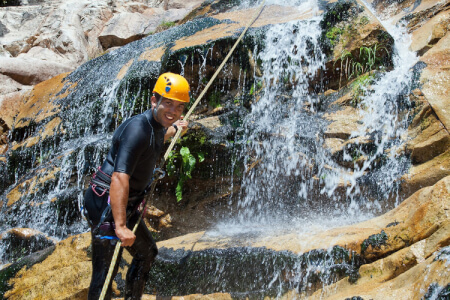 Abseiling & Gorge Walking Newcastle for your stag weekend with stag maximise