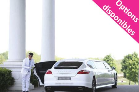 Transfert Aéroport Porsche Limousine pour mon EVG à Vienne | Enterrement de vie de garçon | idée enterrement de vie de garçon | activité enterrement de vie de garçon | idée evg | activité evg