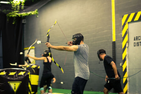 Combat Archery for my Hamburg Hen Party | Maximise Hen Weekends