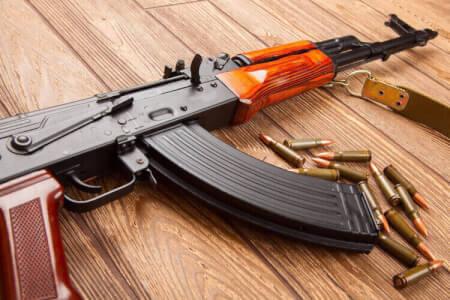 Schießen - AK-47 für meinen JGA in Bucarest | Junggesellenabschied