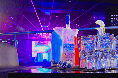 Reserved Area with Bottle of Spirits & Mixers Newcastle for your stag weekend with stag Maximise