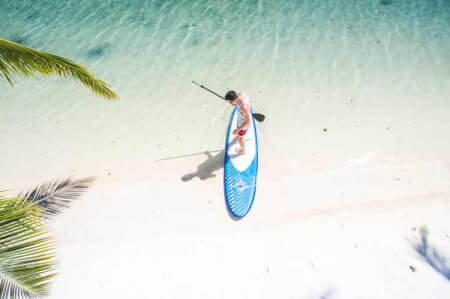 Paddleboarding  for my Mallorca Hen Party | Maximise Hen Weekends