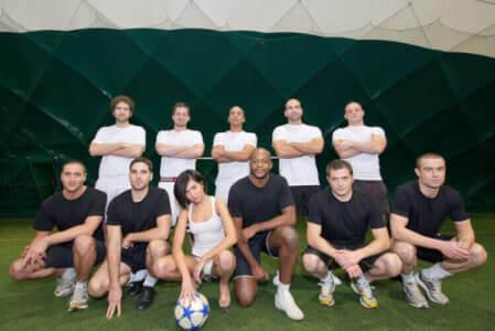 Fußball 5 gegen 5 für meinen JGA in Munich | Junggesellenabschied