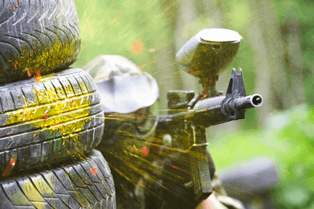 Outdoor Paintball for my Riga Stag Do | Maximise Stag Weekends