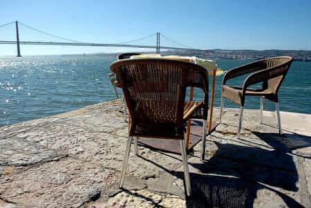 Dinner mit Blick auf Lissabon für meinen JGA in Lisbonne | Junggesellenabschied