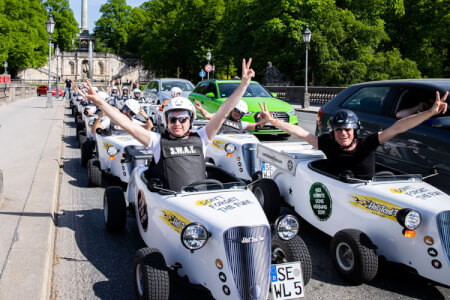 Hot Rod City Tour for my Munich Hen Party | Maximise Hen Weekends