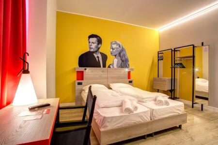 Hôtel Moderne pour mon EVG à Rome | Enterrement de vie de garçon | idée enterrement de vie de garçon | activité enterrement de vie de garçon | idée evg | activité evg