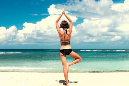 Outdoor-Yoga | Barcelona | Junggesellinnenabschied