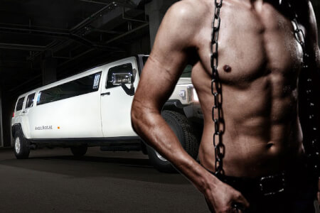 Hummer Strip | Paris | Junggesellinnenabschied