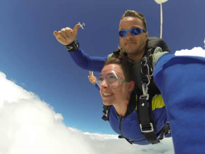 Tandem Skydive for my Hvar Hen Party | Maximise Hen Weekends