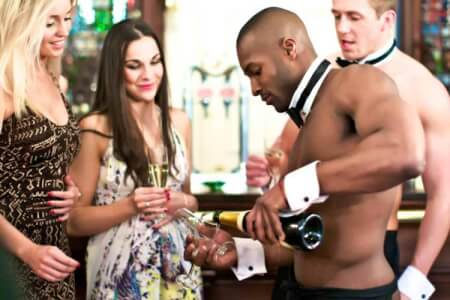 Butler In The Buff! for my Cardiff(Maximise) Hen Party | Maximise Hen Weekends