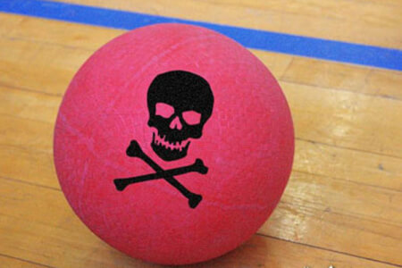 Dodgeball Bristol for your maximise stag party