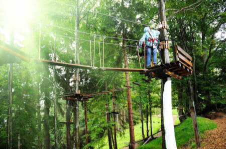 Treetop Adventure  for my Gdansk Stag Do | Maximise Stag Weekends