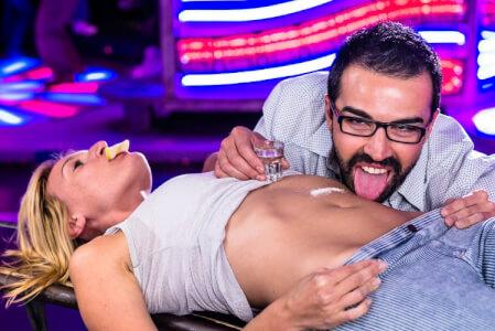 Sexy Body Shots, stag do Bratislava, stag do ideas, stag do activities, Stag do Bratislava nightlife