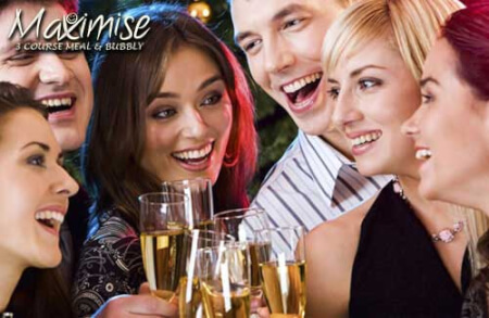 3 Course Club Meal & Glass of Prosecco Leeds for my Leeds(Maximise) Hen Party | Maximise Hen Weekends