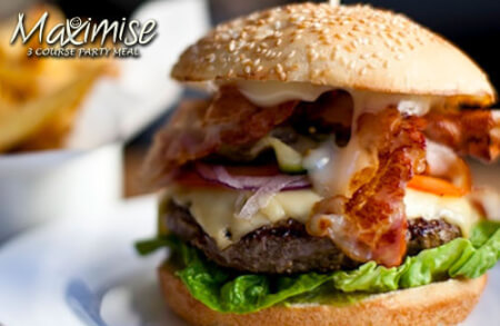 3 Course Party Meal Edinburgh for my Edinburgh(Maximise) Hen Party | Maximise Hen Weekends
